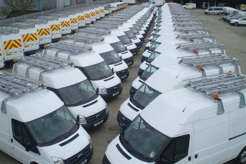 200 LADDERS for fleet of vans